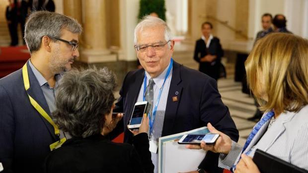 Испанският външен министър Жозеп Борел бе начело на Европейския парламент в периода 2004-2007 г. Снимка: EFE