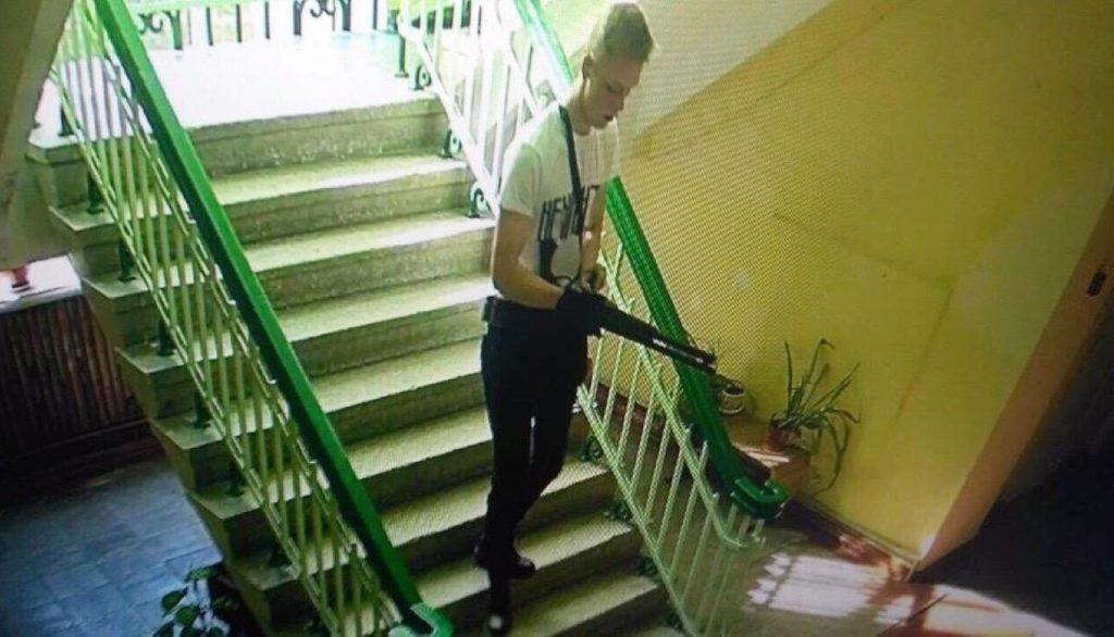 Убиецът Владислав Росляков е бил заснет от охранителните камери
