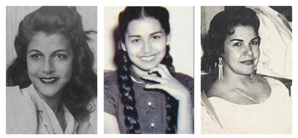 Минерва, Мария Тереса и Патриа Мирабал (отляво надясно). Снимка: mujeresaseguir