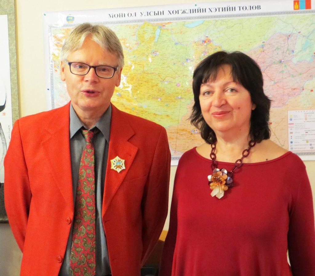 Александър Федотов и Снежана Тодорова. Снимка: Фейсбук