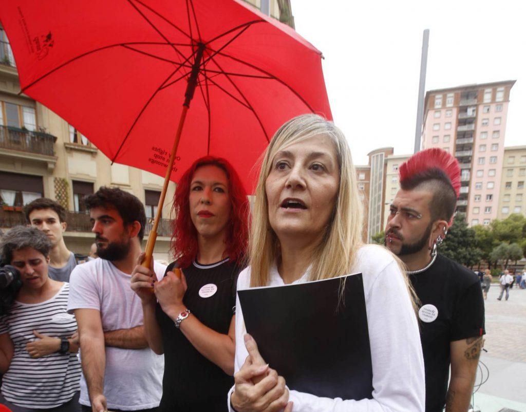 """Лидерката на """"Otras"""" Конча Борел (на преден план) обяви, че организацията ще обжалва пред следваща съдебна инстанция. Снимка: El Pais"""