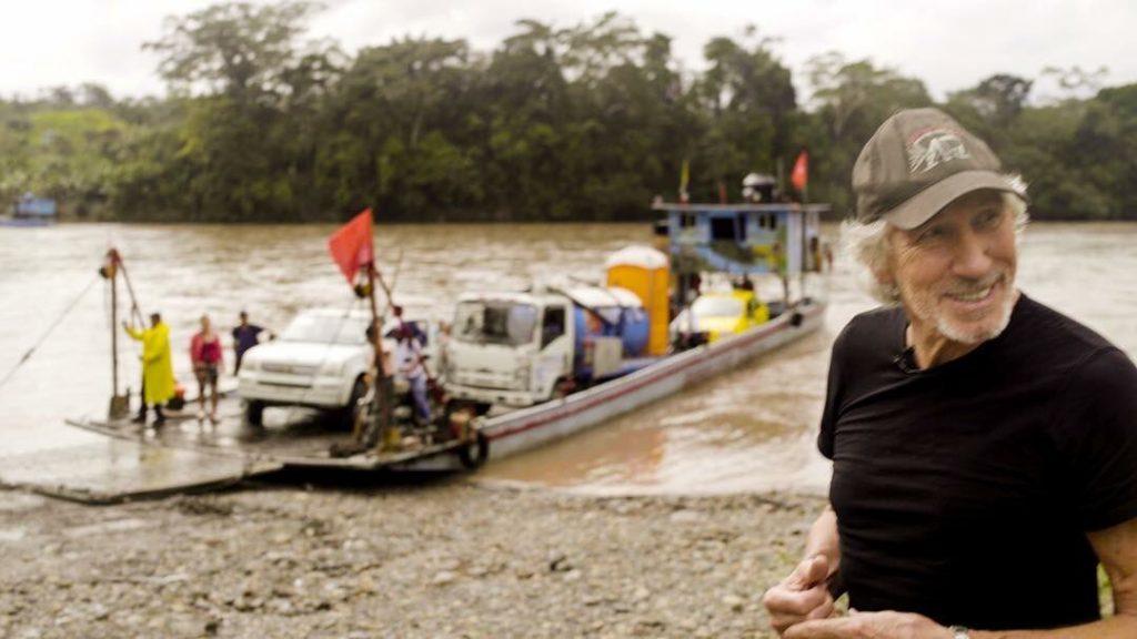 Роджър Уотърс в еквадорска Амазония. Снимка: Туитър