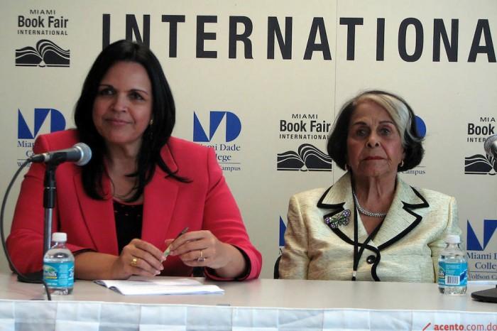Дъщерята на Минерва и Маноло–Миневра Хосефина Таварес Мирабал, наричана Мину, и леля ѝ, която я е отгледала заедно с другите деца на сестрите Мирабал–Белхика Адела (Деде) Мирабал. Снимка: acento.com.do
