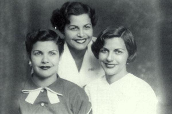 Патриа, Белхика Адела (Деде) и Минерва Мирабал. Снимка: mujeresaseguir