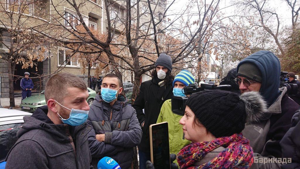 """""""Дишай!"""" – протест за чист въздух в София (снимки и видео)"""