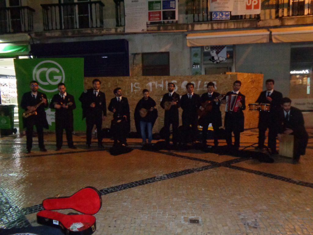 """Португалски хор на """"Руа Аугуща"""". Снимка: Къдринка Къдринова"""