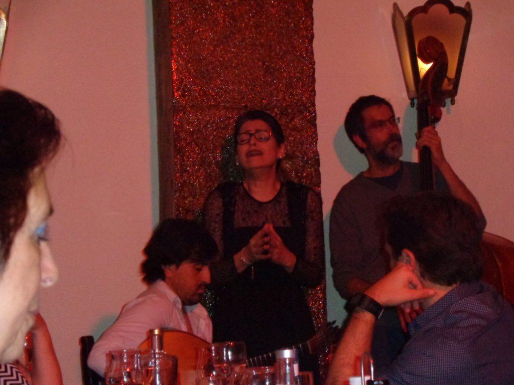 Фадо в Clube de Fado. Снимка: Къдринка Къдринова