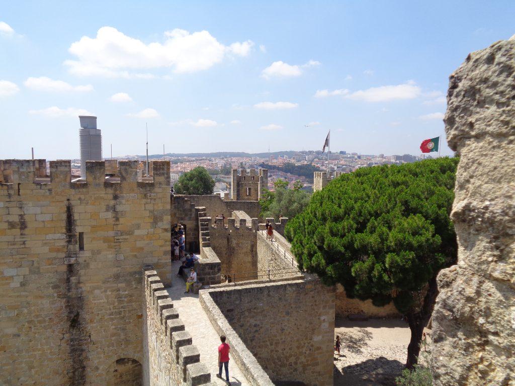 """Част от крепостта """"Сао Жоржи"""". Снимка: Къдринка Къдринова"""