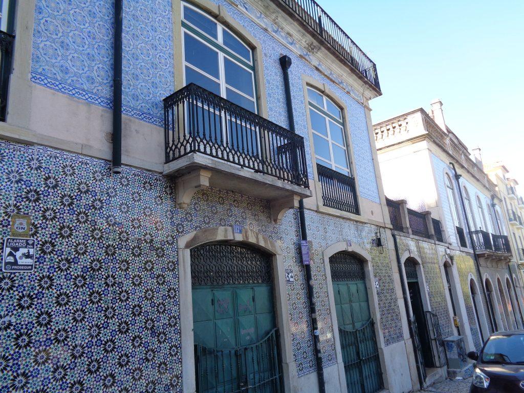 Фасада с азулежу. Снимка: Къдринка Къдринова