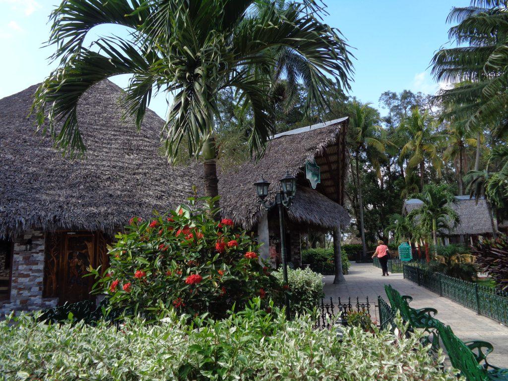 Кът от тропическия рай на Los Caneyes. Снимка: Къдринка Къдринова