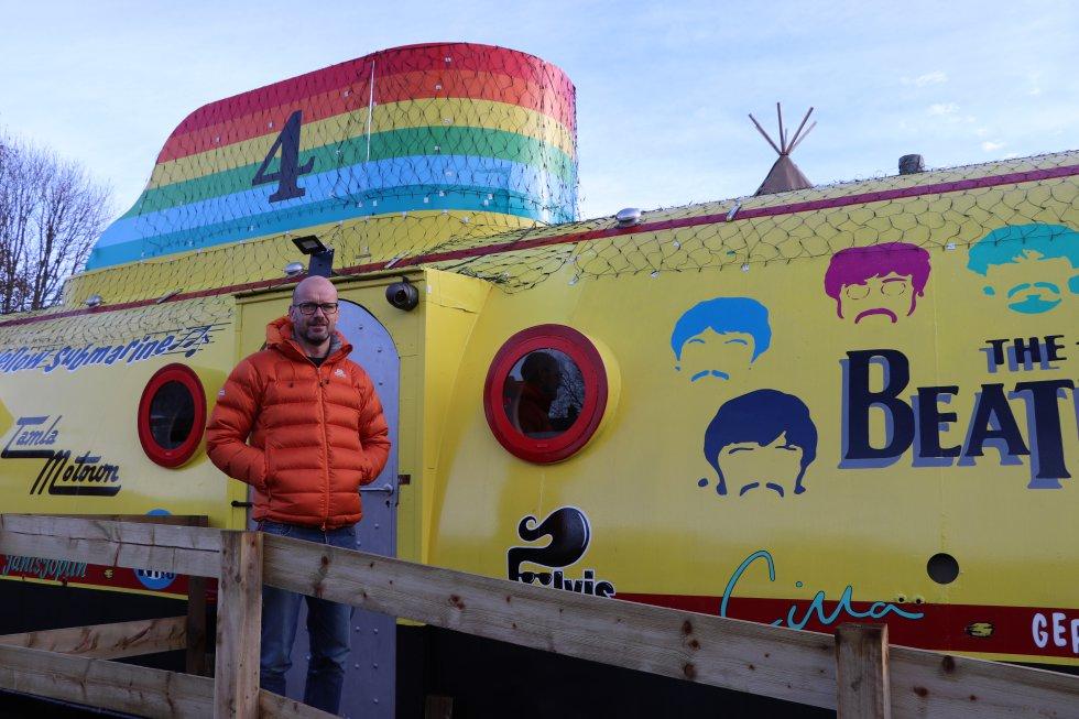 Боб Флетчър проектира сгради и гаражи в Ливърпул. Снимка: El Pais