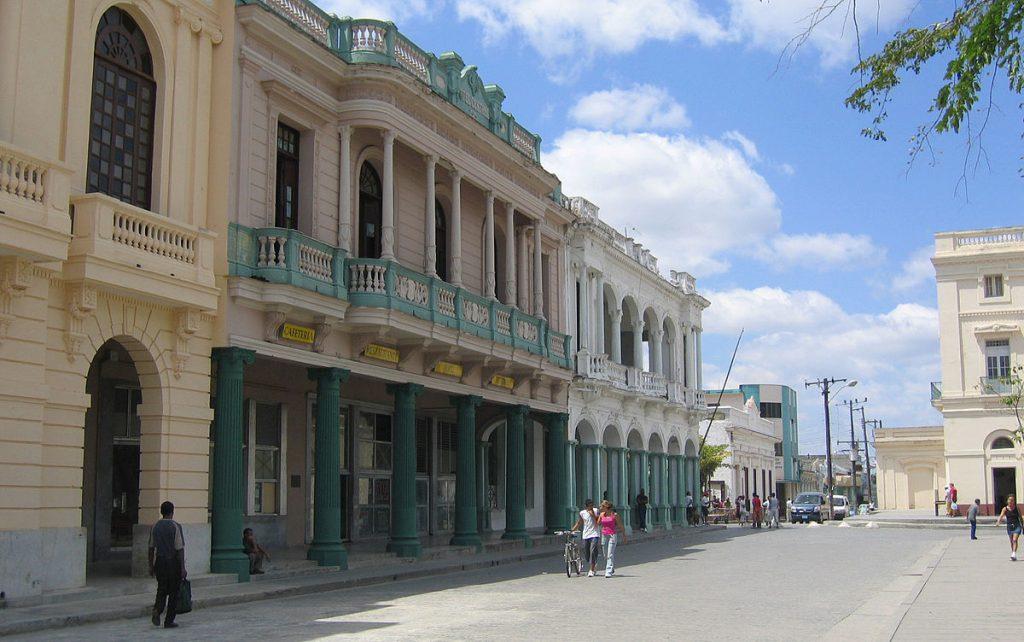 Колониалната архитектура определя градския облик в центъра на Санта Клара.