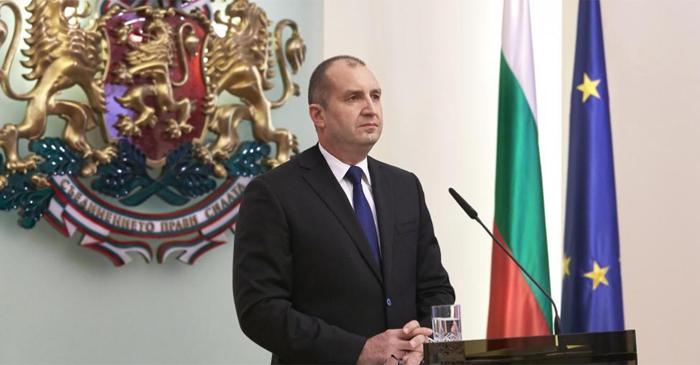 Президентът Румен Радев. Снимка: Президентство
