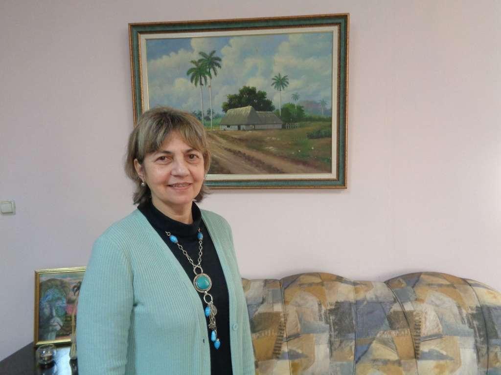 Н. Пр. Каридад Ямира Куето Милиан, посланик на Куба в България. Снимка: Къдринка Къдринова