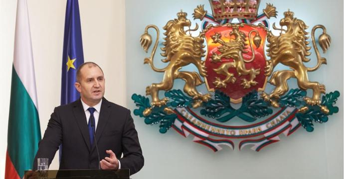 Президентът Румен Радев. Снимка: president.bg