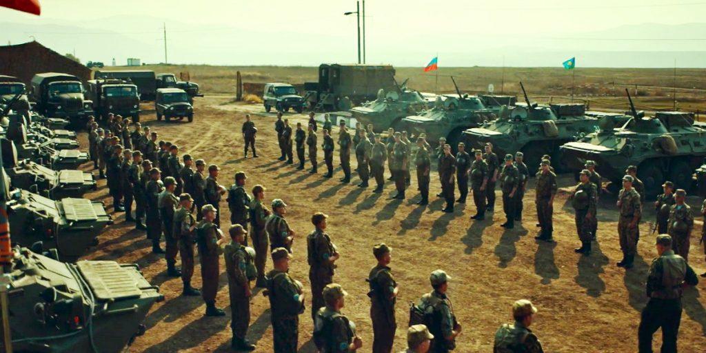 Руски бойци на летището в Прищина, 1999 г. Снимка: in.raiting