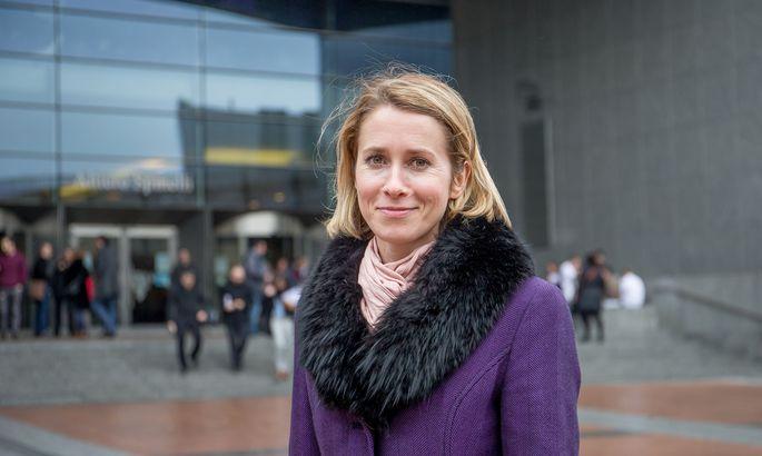 Лидерката на Партията на реформите Кая Калас, която вероятно ще е новата министър-председателка на Естония, е била евродепутатка. Дъщеря е на бившия зам.-шеф на Еврокомисията Сийм Калас. Снимка: postimees.ee