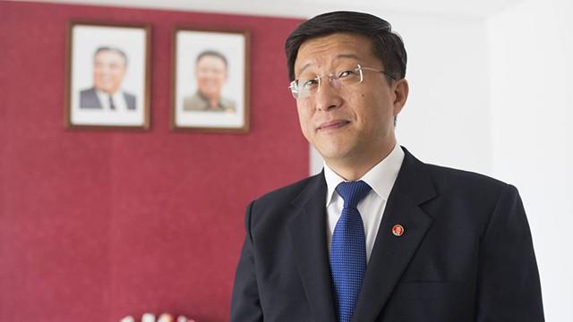Ким Йок Чол е бил посланик на Северна Корея в Испания от 2014 г. до експулсирането му през 2017 г. Снимка: El Pais