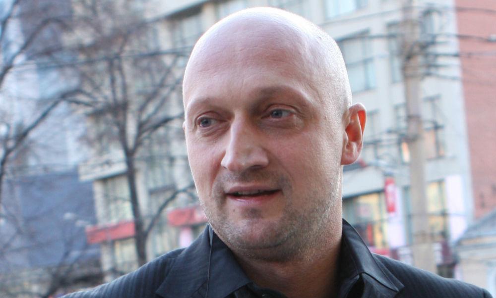 """Гоша Куценко е продуцент и изпълнител на главната роля в """"Балкански рубеж"""". Снимка: TVKultura"""