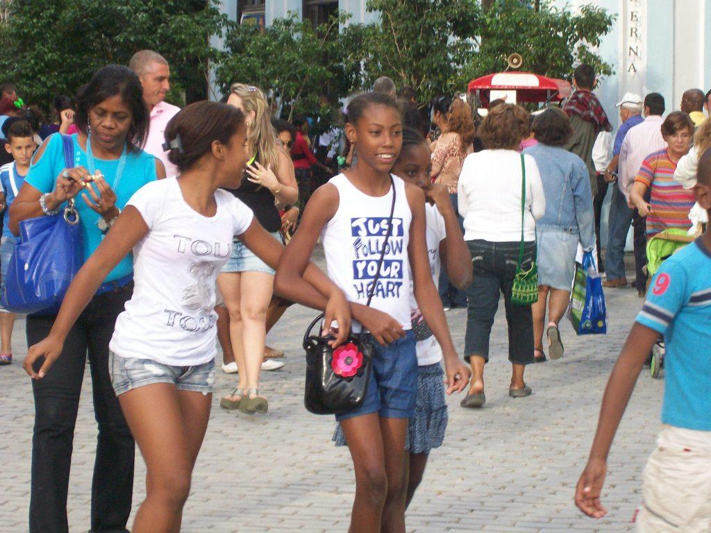 Усмивки от бъдещето на Куба. Снимка: Къдринка Къдринова