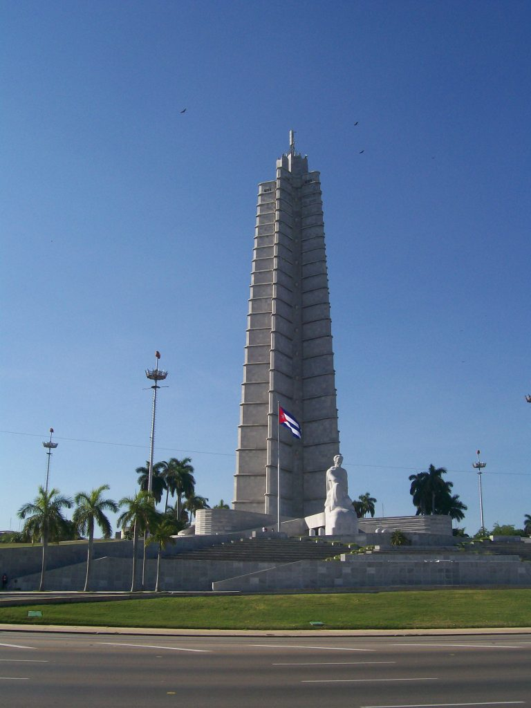 Паметникът на Хосе Марти на Площада на революцията. Снимка: Къдринка Къдринова