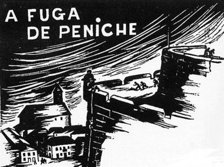 Ето как Маргарида Тенгариня изобразява бягството от Пенише