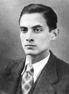 Алваро Кунял като млад. Снимка: Archivo