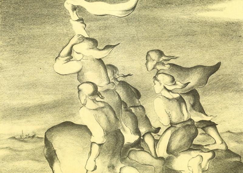 """Творба на Алваро Кунял от албума му """"Рисунки от затвора"""""""
