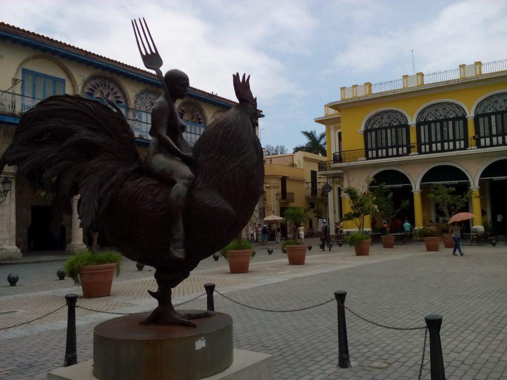 На Стария площад в Хавана. Снимка: Къдринка Къдринова