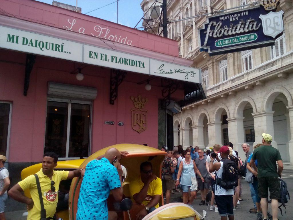 """Любимият бар на Хемингуей–""""Флоридита"""", където си пиел дайкирито. Снимка: Къдринка Къдринова"""