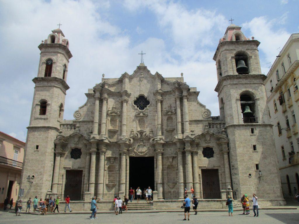 Хаванската катедрала. Снимка: Къдринка Къдринова
