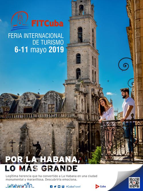 Афиш на кубинското министерство на туризма, който анонсира провеждането на международния панаир на туризма от 6 до 11 май т.г.