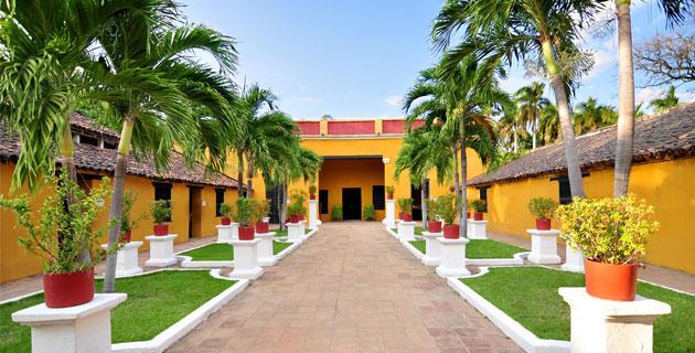 "Имението ""Сан Педро Алехандрино"" е било последното убежище на Симон Боливар. Снимка: Museo Bolivariano"