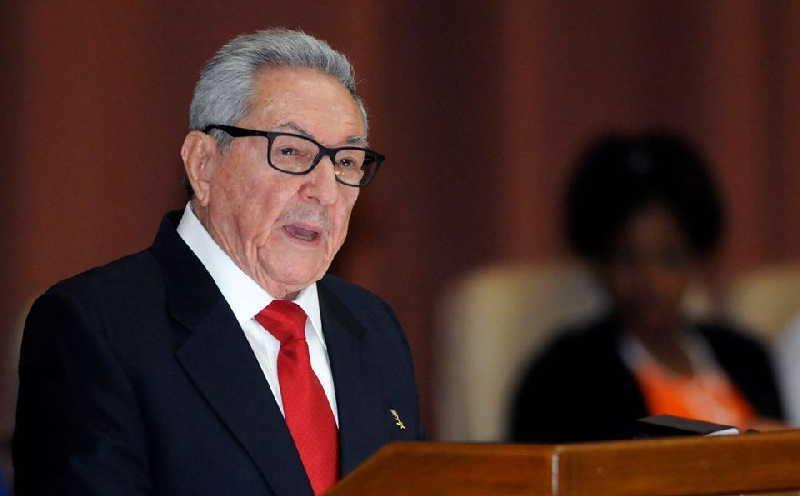 Раул Кастро по време на речта си пред Националното събрание в Хавана. Снимка: Prensa Latina