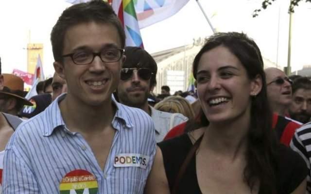 Иниго Ерехон и Рита Маестре по времето, когато още са гаджета. Снимка: Twitter
