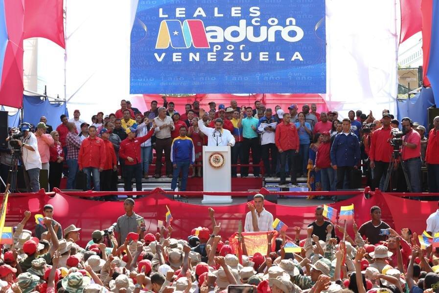 Николас Мадуро призова за премевране на силите в предсрочни парламентарни избори. Снимка: Prensa Presidencial