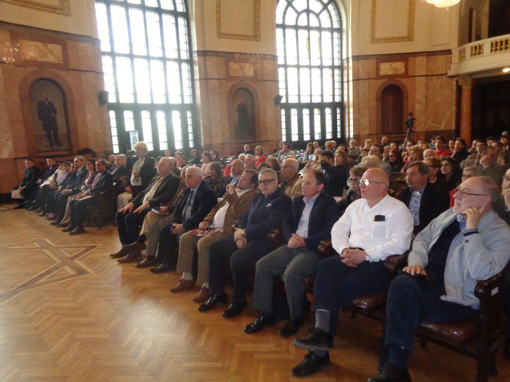 По време на тържествената юбилейна сесия в Аулата на Софийския университет. Снимка: Къдринка Къдринова