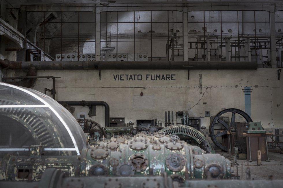 Хале на бивша химическа фабрика в Папиньо. Снимка: El Pais