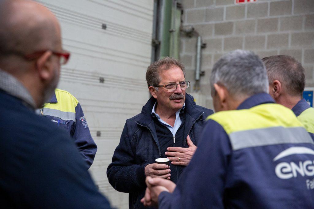 Като работник и като деен и авторитетен синдикалист Нико Куе много добре знае какви са болките и стремежите на трудовите хора. Снимка: European Left
