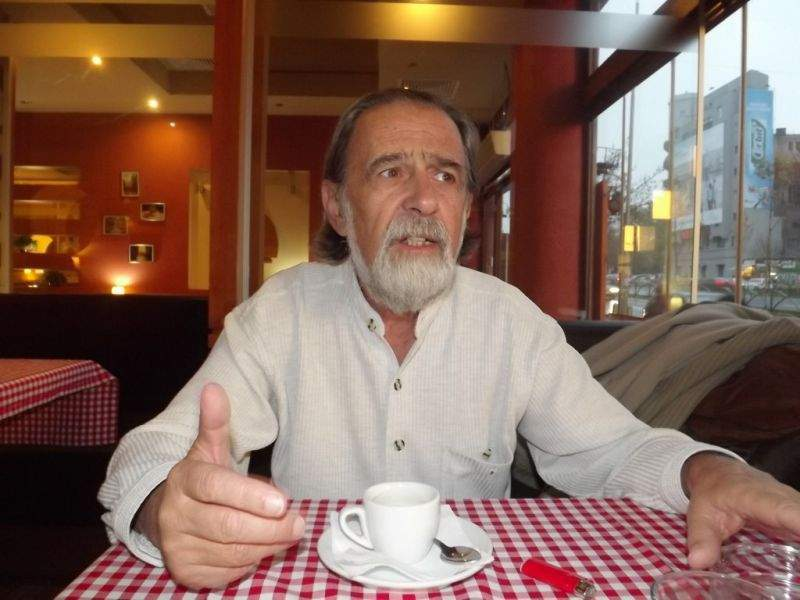 Културният антрополог Винтила Михайлеску (снимка: Владимир Митев)