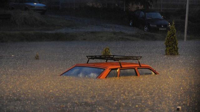 Наводнение в Скопие