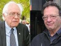 Бърни и Лари Сандърс се борят за социална справедливост от двете страни на Атлантическия океан