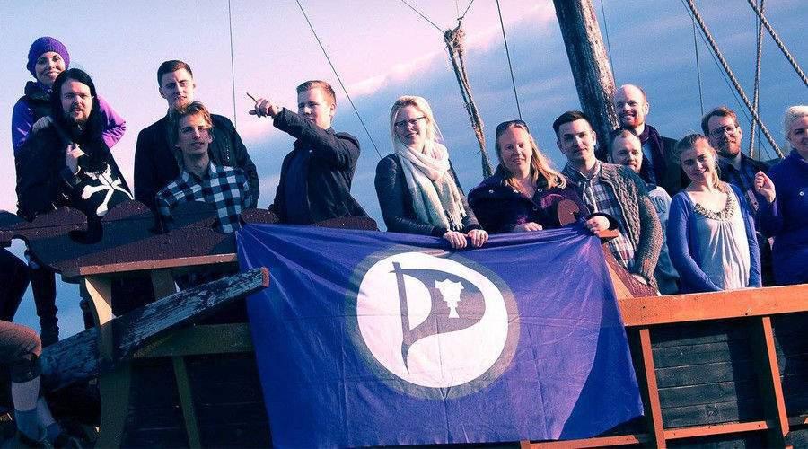 Членове на исландската Пиратска партия Снимка: Facebook