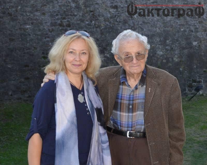 Анжел Вагенщайн с авторката на интервюто Ваня Ставрева. Снимка: Фактограф