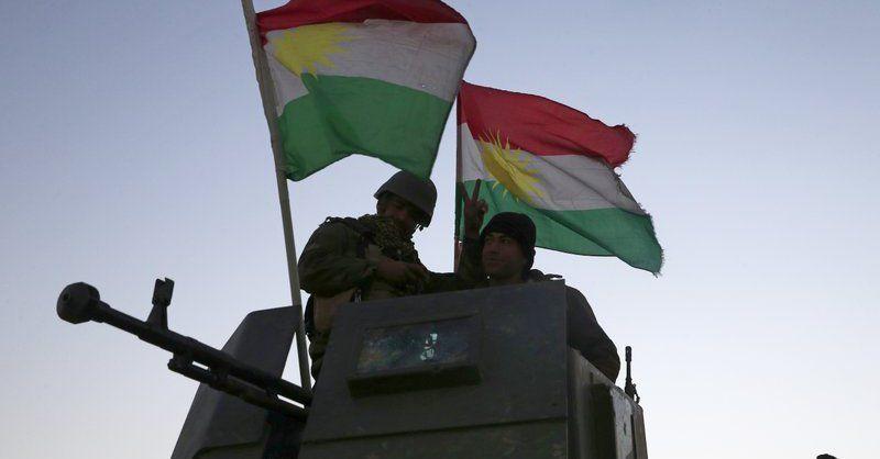 Кюрдските отряди на Пешмерга имат ключова роля в операцията