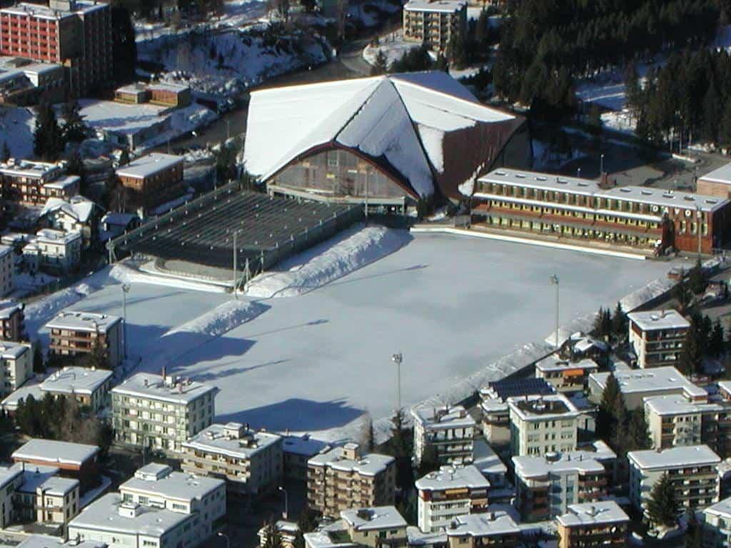 Швейцарският курорт Давос, където се провежда Световният икономически форум