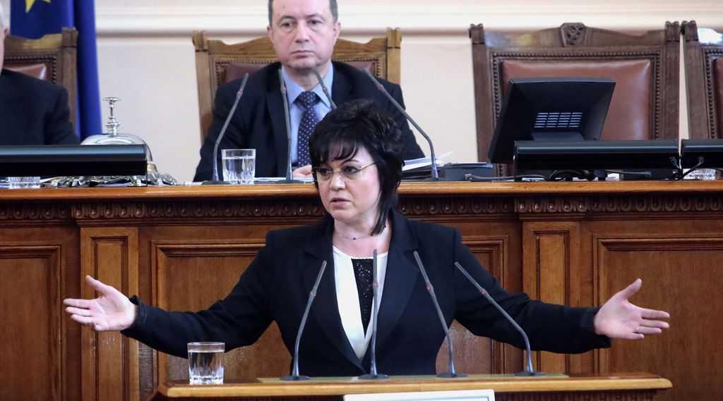 Корнелия Нинова не е харесала предложението да има ограничение за милионери