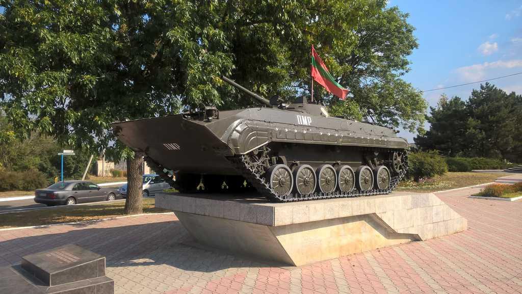 Паметник на загиналите във войната през 1992 г., Беднери.