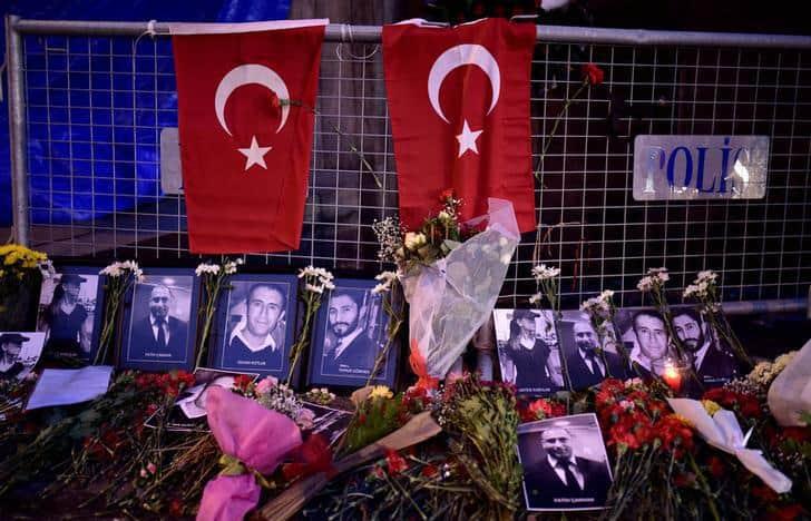 """Трагедията в истанбулския нощен клуб """"Рейна"""" в новогодишната нощ продължи черната серия от атентати в Турция"""