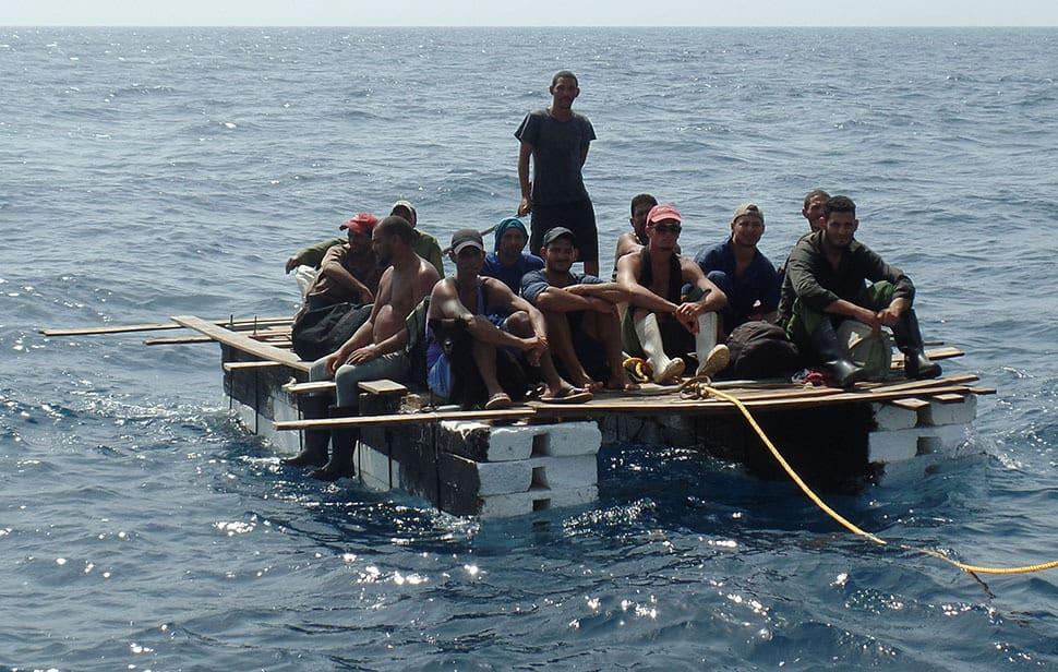 С промените, анонсирани от Обама, саловете с кубинци във Флоридския пролив очевидно ще започнат да изчезват